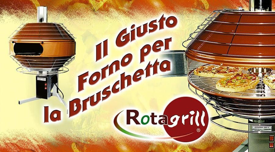 Rotagrill Forno per Bruschette Vicenza
